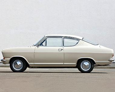 Kadett B, kopoltyús kupé 1965. szeptember-1970. július