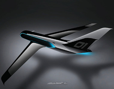 A HX1-es business jet formáját is ő álmodta meg