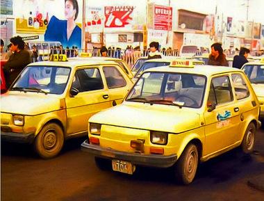 Taxik a nyolcvanas évek elején