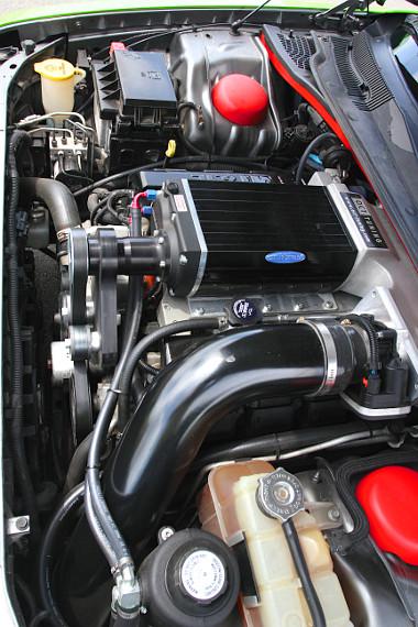 Új kompresszor tömi a levegőt a HEMI égéstereibe
