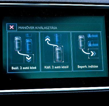 Önmagától is képes beparkolni a Peugeot