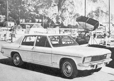 A mai Kapitän túrakocsi, amely egyik alapja az álomautónak, a Coupé-prototípusnak