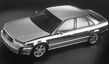 1993-ban tanulmányautóként debütált az Audi első V8-as dízele az A8-asban