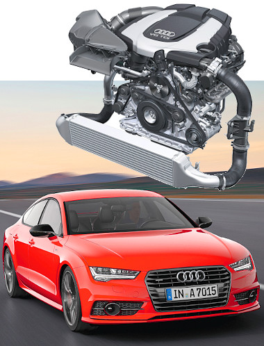 Az A7 Sportbackben debütált a V6-os TDI új nemzedéke