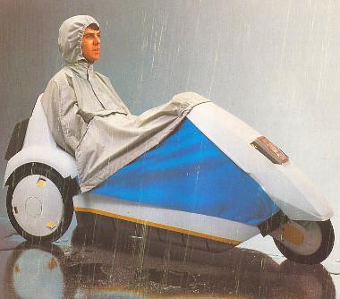 Esőben ilyen egyszerűen tudta védeni az ember a ruházatát