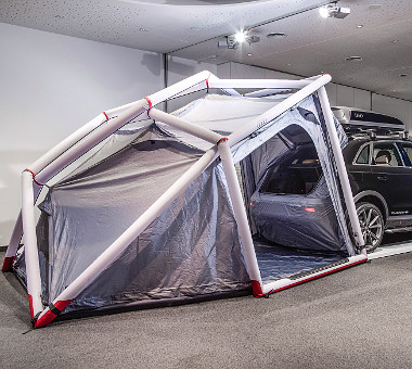 Háromszemélyes sátrat is kínál az Audi, potom 1390 euróért