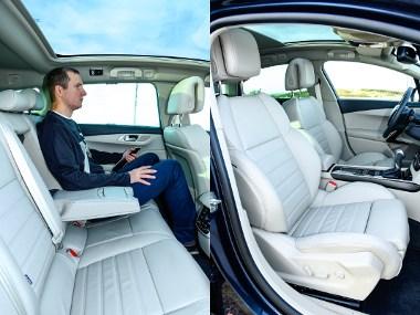 Hatalmas hely, jól formázott ülések: az 508-as remek utazóautó