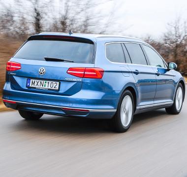 A nyolcadik generációs Passat a VW-csoportnál széles körben alkalmazott MQB-platformra épül