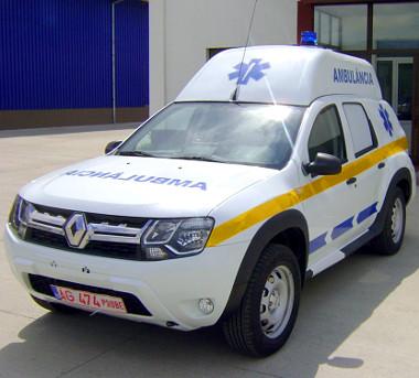Angolában Renaultként forgalmazzák az autót, ezért a márkajelzés