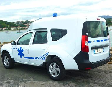 Franciaországban Dokker-befejezéssle készít Duster-mentőt a BSE Ambulances