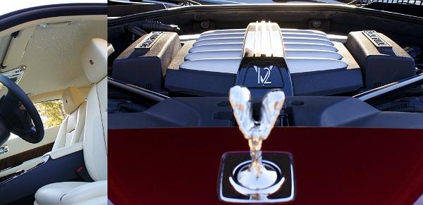 Mennyei utastér a csillagos égboltot utánzó tetőkárpit alatt: Rolls-Royce Wraith. elképesztően nagyot tol a biturbó V12-es