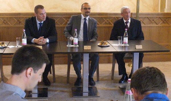 Ormos Péter, Markó Zoltán és Ormos István, a Lada Hungary tulajdonosai és vezetője