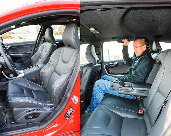 Helykínálat terén az S60/V60-as két szegmens között lebeg: már nem kompakt, de még nem középkategóriás