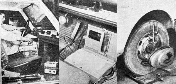 Tranzisztoros fogyasztásmérő, a féklassulás értékeit regisztráló készülék és optikai kerékbeállító. Ezek mind nagy szerepet kaptak, hogy objektív véleményt alkossunk az ATUKI-nál vizsgált új Wartburgokról