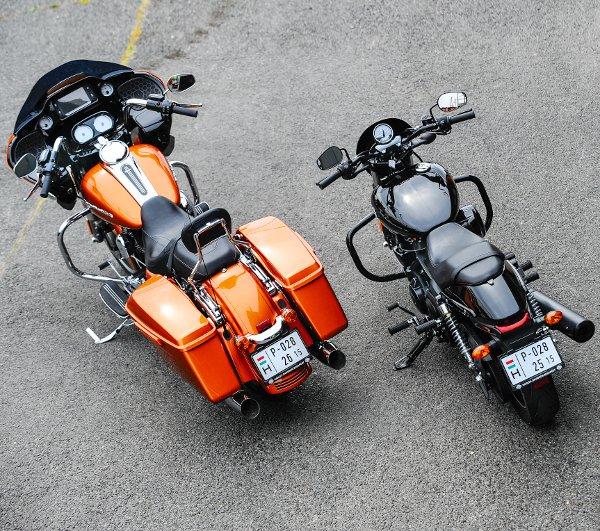 Egészen más területeken brillírozik a két Harley, ennek megfelelően gyengéik is különbözők