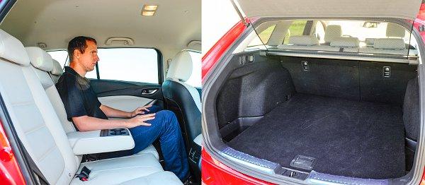 A 6-os az első Mazda, melyhez hátsó ülésfűtés is elérhető! Átlagos méretű a csomagtartó