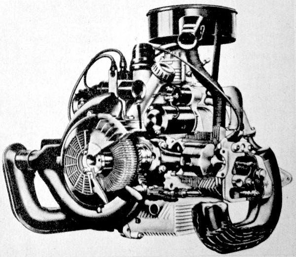 A DAF-44 boxermotorja