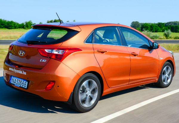 A 136 lovas dízellel energikus a Hyundai, zajszintje pedig 130-as tempónál is alacsony