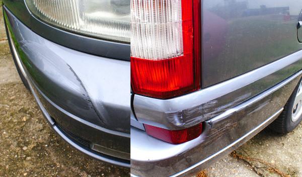 Bőven akad parkolási sérülés a karosszérián, de még a gyári első fényt viselik a lemezek