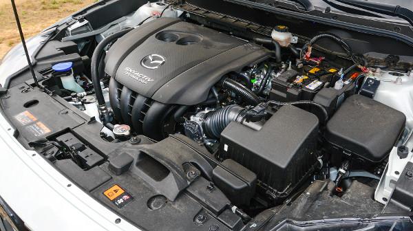 Inkább pörgős, mint nyomatékos hangolású a benzinmotor