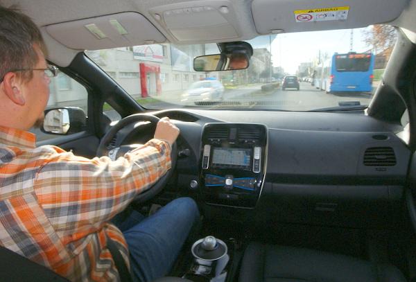 Budapest és Pest megye a hatótávolsága a Nissan Leaf legújabb változatának