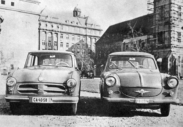 Felidézünk egy képet, amelyet az első Magyarországra került (DT-táblás) P-50 típust mutattuk be annak idején egy P-70-es mellet lapunk olvasóinak