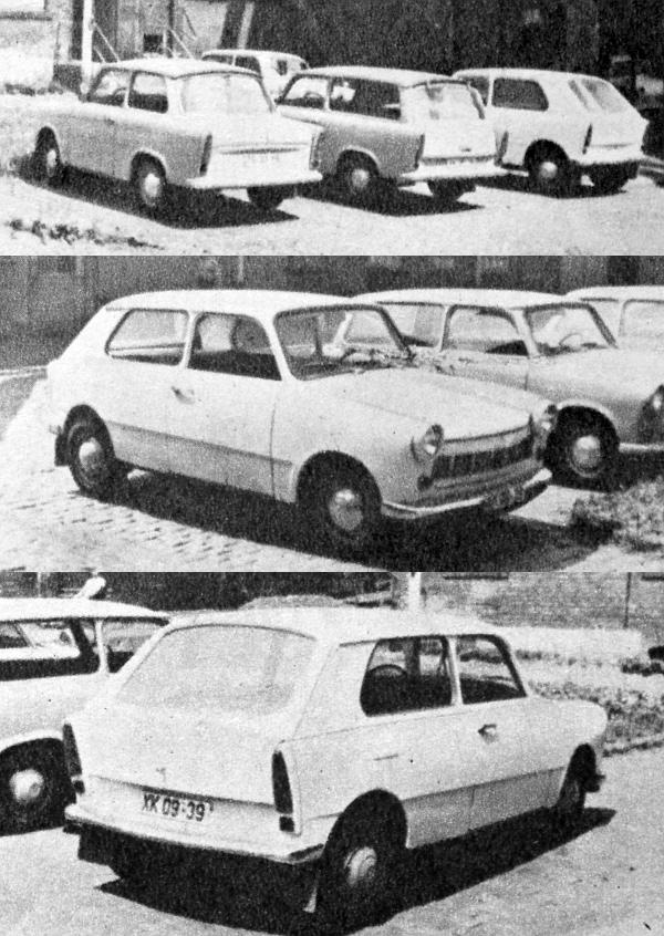 Ennek a Trabantnak a képei is szerepeltek már lapunkban, de nem min gyári felvételek. Igaz, a gyárban készültek, de olvasóink küldték be... Ugye, érdekesek?