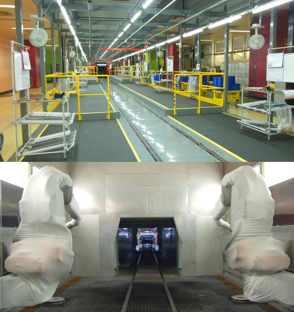 Termékre vár az új gyártósor Sochaux-ban, a Peugeot központi gyárában. Az Opel Meriva is itt készül majd