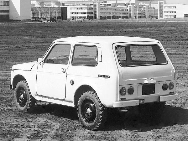 Az 1973-ban épített első prototípus formáját még sokat csiszolták