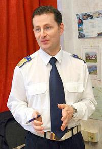 Meggyesfalvi Tamás r. alezredes