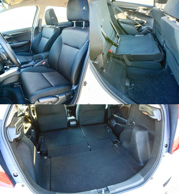 Tágas, kényelmes és világos az utaskabin. Továbbra is komoly tényező a felhajtható üléslap, feneketlen a bendő