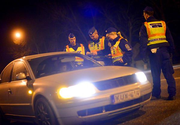 A rendőrség célja nem a büntetés, hanem a balesetek megelőzése, a személyre szóló prevenció és az, hogy minél többen betartsák a szabályokat Fotó: MW