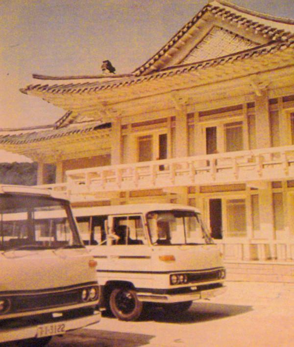 Jellegzetes stílusban épült a Mjohjangszan Hotel