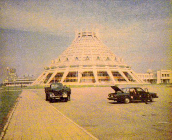 Phenjanban impozáns látvány a Sportcsarnok