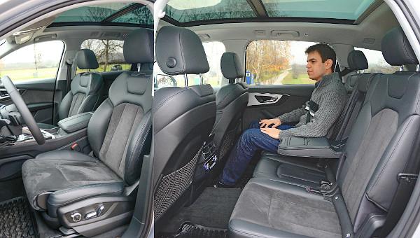 Motorosan megtoldható az első ülőlap hossza, hátul is bőséges a hely