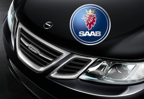 Saab felirat a Griffin logó helyén