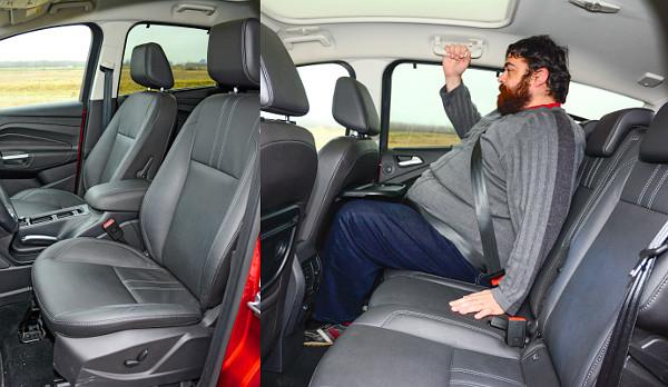 Kényelmes a magas ülés. Kis asztal, kis tér – utóbbin lehet javítani a Komfort üléssel vagy a Grand kasztnival