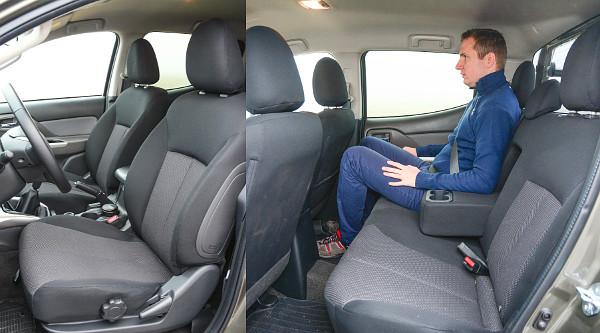 Magas vezetési pozíció, kényelmes ülések. Több mint tisztességes a hátsó helykínálat