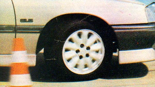 50 ezer kilométeres tesztelésen a kísérleti keréktárcsa