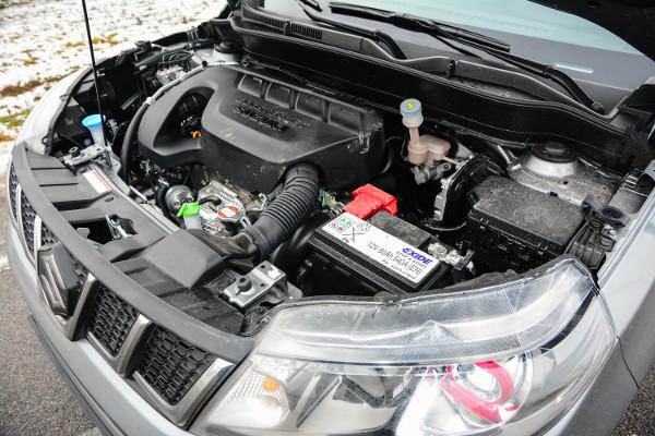 Klassz kis motor a közvetlen befecskendezésű 1,4-es turbó. A fogyasztása rendben, de kis tankja miatt szerény a hatótáv