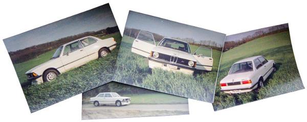 Kovács úr ma már ikonikus BMW E21-ese. Fotó: Kovács László, Lővei Gergely