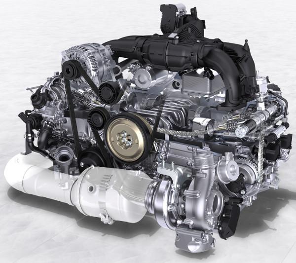 Az új, 2,5 literes turbómotor 35 lóerővel és 60 Nm-rel múlja felül a korábbi 3,4 literes szívó hathengerest