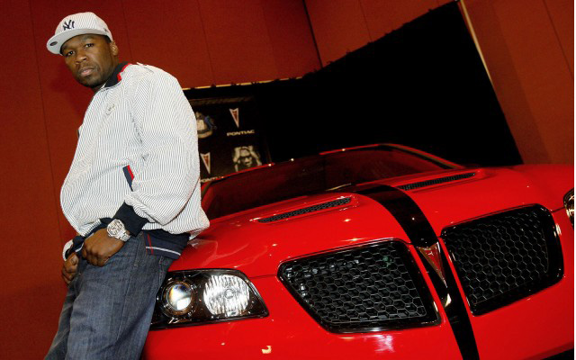 50 Cent akar lenni az új Jeremy Clarckson (Fotó: carthrottle.com)