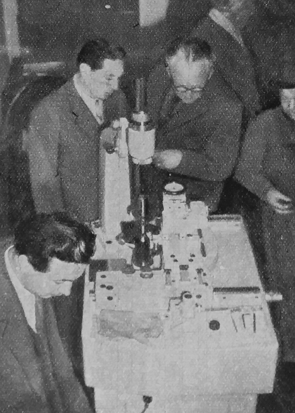 Régi szakemberek őszinte csodálata övezi a műszerek műszerét, a világ 16 evolvens vizsgáló készüléke közül az egyiket, amelyik az Autóalkatrészgyár tulajdonát képezi