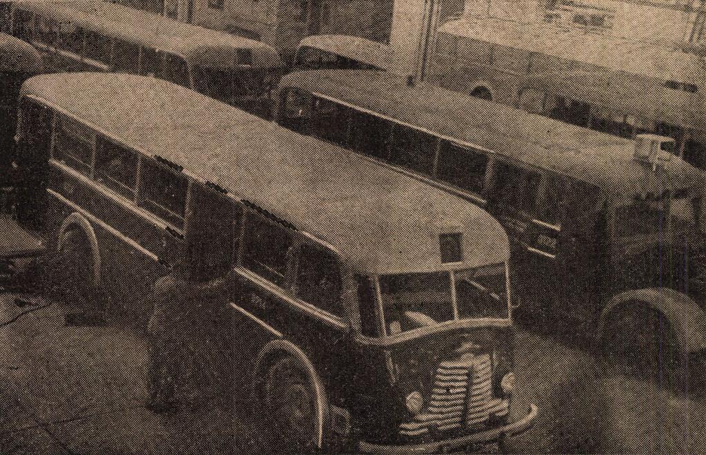 A kész autóbuszok