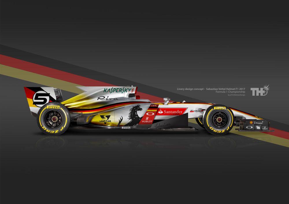 Ilyenek lennének a sisakok alapján tervezett F1-es autók! (Fotó: tim-holmes.com)