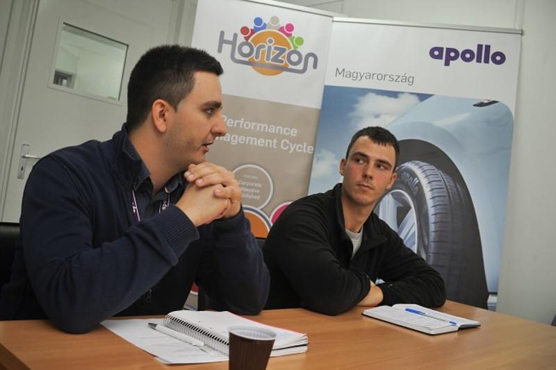 Kiss Balázs és Tóth Róbert is ott lesz a jövőre induló gyár fiatal csapatában Fotó: Czímer Tamás és Berán Dániel
