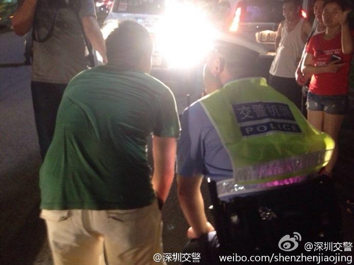 Kínában így büntetik azokat, akik reflektorral közlekednek az utakon (Fotó: autoevolution.com)
