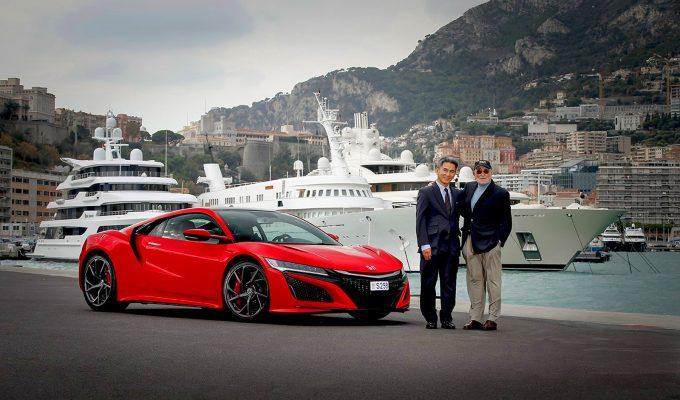 First European NSX delivered to Honda ambassador Claude Sage