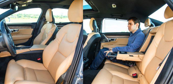 Hagyományosan ergonomikusak és nagyon kényelmesek az ülések, a tükör itt is keret nélküli. A limuzinban és a kombiban is bőséges a hely, pohártartót és rekeszt is rejt a könyöklő, tolótető vagy nyitható üvegtető is kérhető